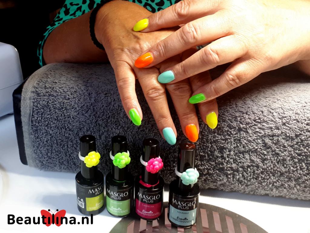 Masglo is verkrijgbaar in meer dan 100 kleuren