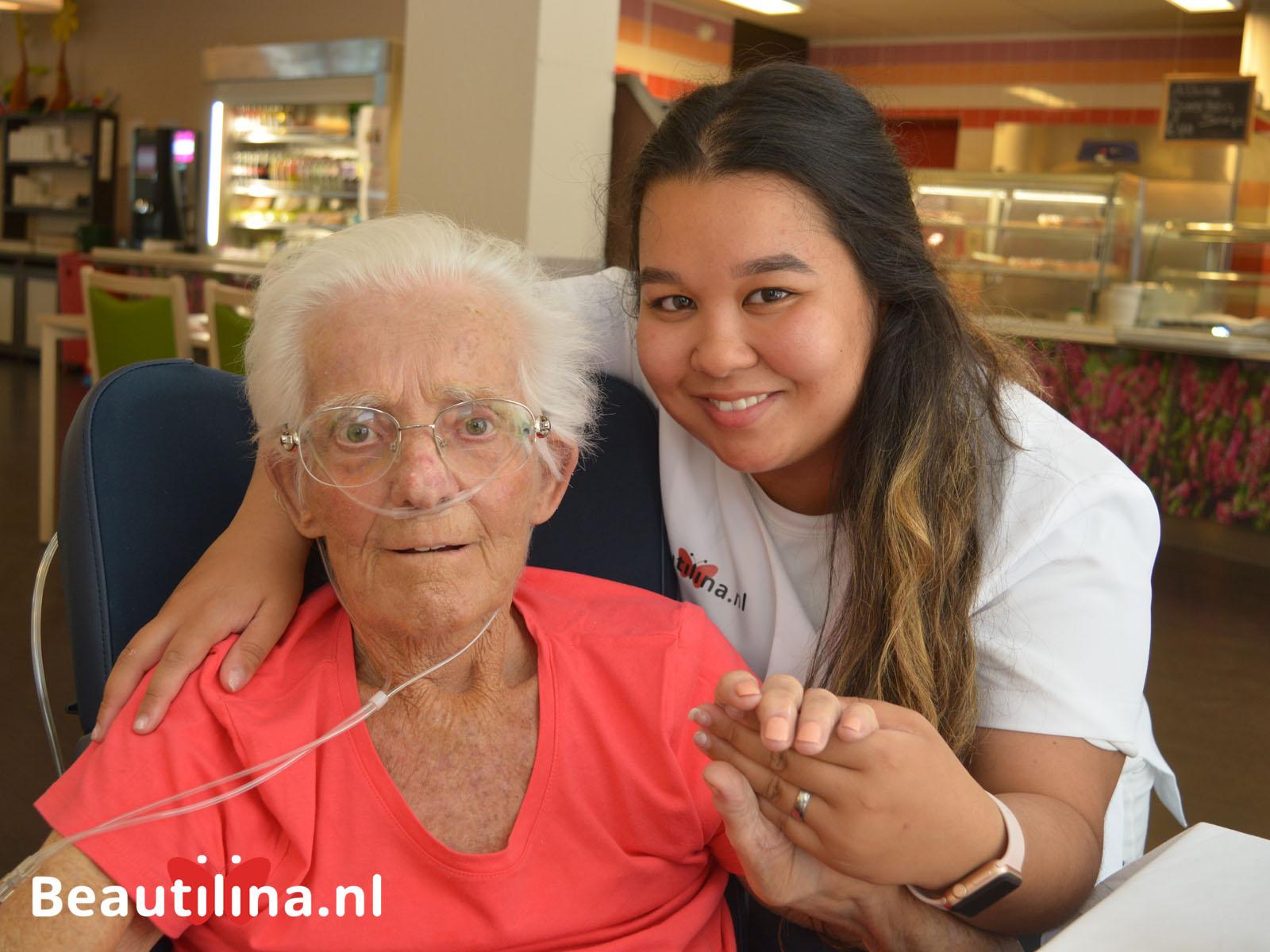 Senioren beautydag bij Leo Polak (24-7-2018)